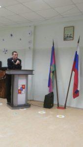 Инспектор ОПДН по Хостинскому району капитан полиции Исрафилов И. И.