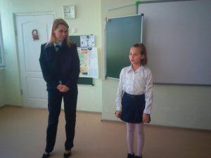 Мария Алексеевна и ученица 4 класса Пистогова Алина